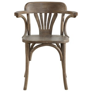 Huck Natural Accent Chair