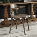 Uttermost Accent Furniture Huck Natural Accent Chair