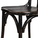 Uttermost Accent Furniture Huck Black Accent Chair