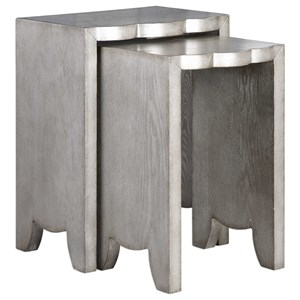 Uttermost Accent Furniture Imala Natural Ash Nesting Tables (Set of 2)