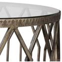 Uttermost Accent Furniture Algoma Glass Accent Table