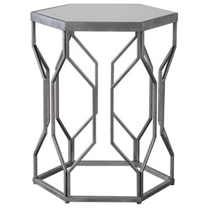 Uttermost Accent Furniture Stellan Iron Accent Table