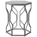 Uttermost Accent Furniture Stellan Iron Accent Table - Item Number: 24742