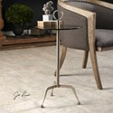 Uttermost Accent Furniture Astro Stainless Steel Accent Table