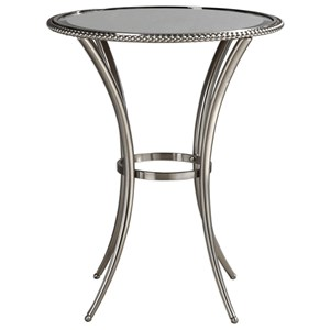 Sherise Beaded Metal Accent Table