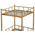 Uttermost Accent Furniture Tilly Gold Accent Shelf Table