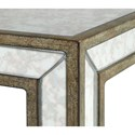 Uttermost Accent Furniture Julie Mirrored Accent Table