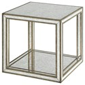 Uttermost Accent Furniture - Occasional Tables Julie Mirrored Accent Table - Item Number: 24789