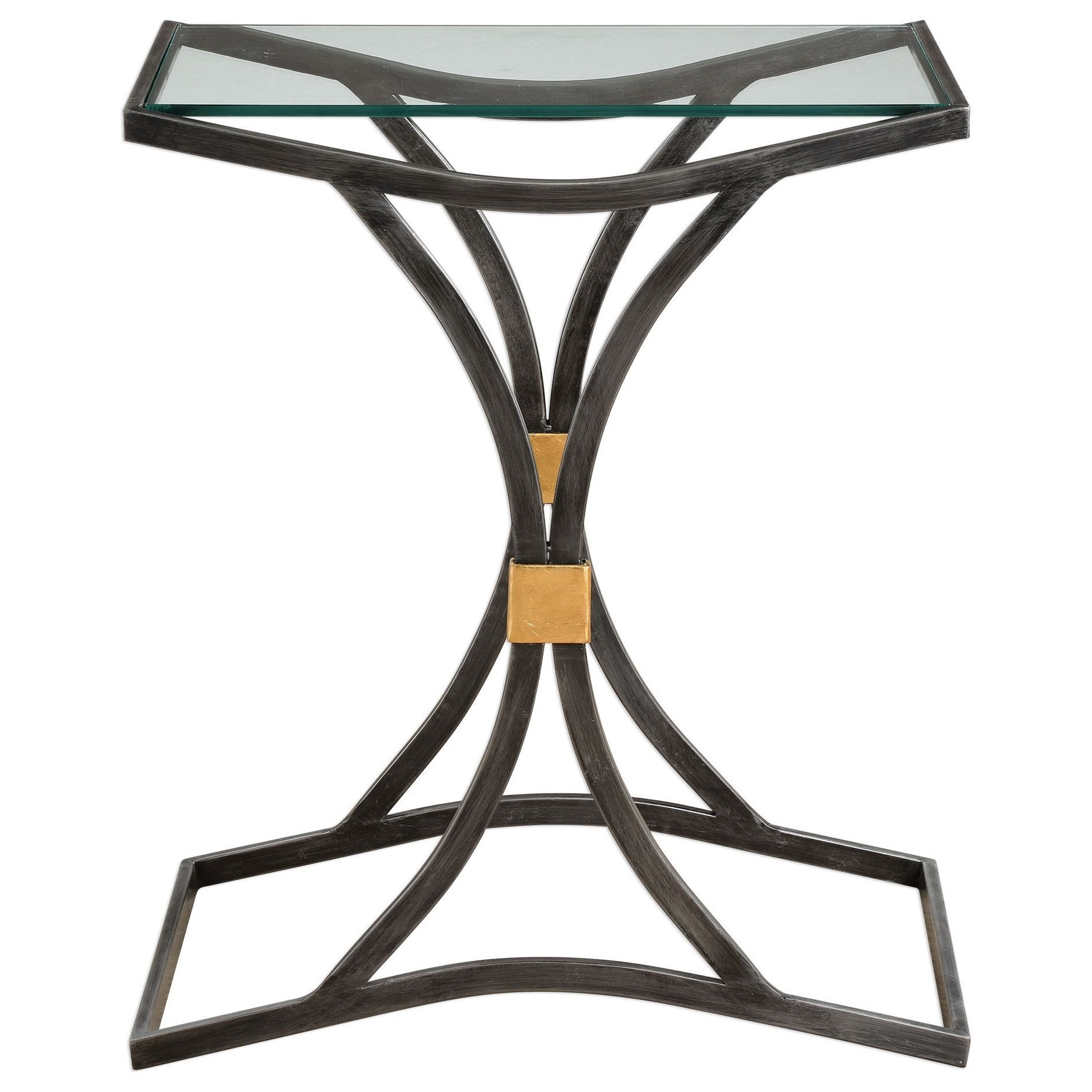 Verino Arched Iron Accent Table