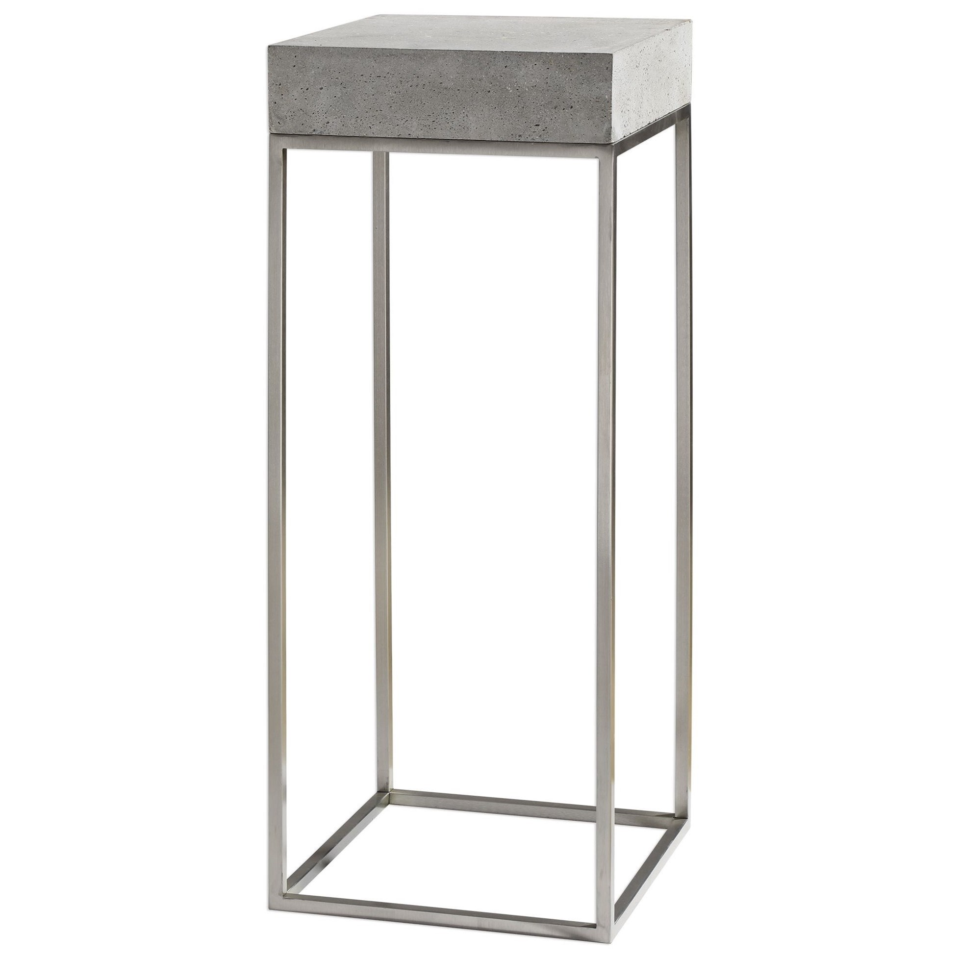 Accent Furniture - Occasional Tables Jude Industrial Modern Plant Stand by Uttermost at Factory Direct Furniture