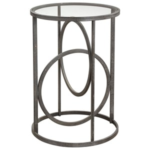 Lucien Iron Accent Table