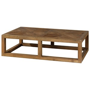 Uttermost Accent Furniture Wyatt Wooden Coffee Table