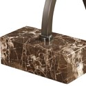 Uttermost Accent Furniture - Occasional Tables Levi Round Bronze Accent Table