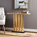 Uttermost Accent Furniture Sabrina Gold Console Table