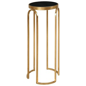 Uttermost Accent Furniture Novalie Gold Accent Table