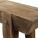 Uttermost Accent Furniture Hayes Wooden Console Table