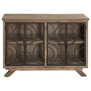 Uttermost Accent Furniture Tatum Rustic Accent Cabinet
