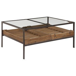 Uttermost Accent Furniture Silas Coffee Table