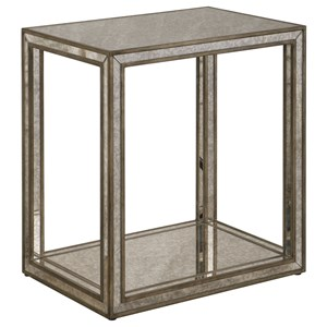 Uttermost Accent Furniture Julie Mirrored End Table