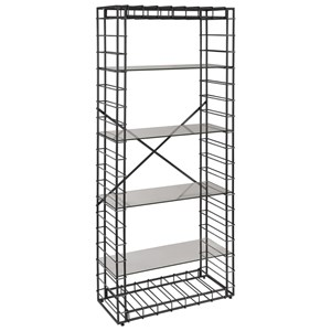 Uttermost Accent Furniture Leonel Industrial Etagere
