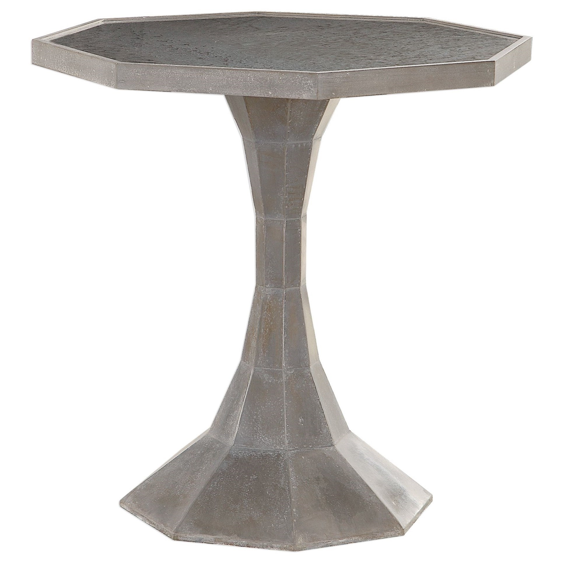 Aharon Octagonal Lamp Table