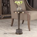 Uttermost Accent Furniture Masika Bronze Accent Table