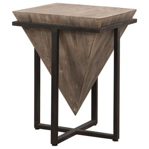Uttermost Accent Furniture Bertrand Wood Accent Table