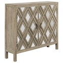 Uttermost Accent Furniture - Chests Tahira Mirrored Accent Cabinet - Item Number: 24866