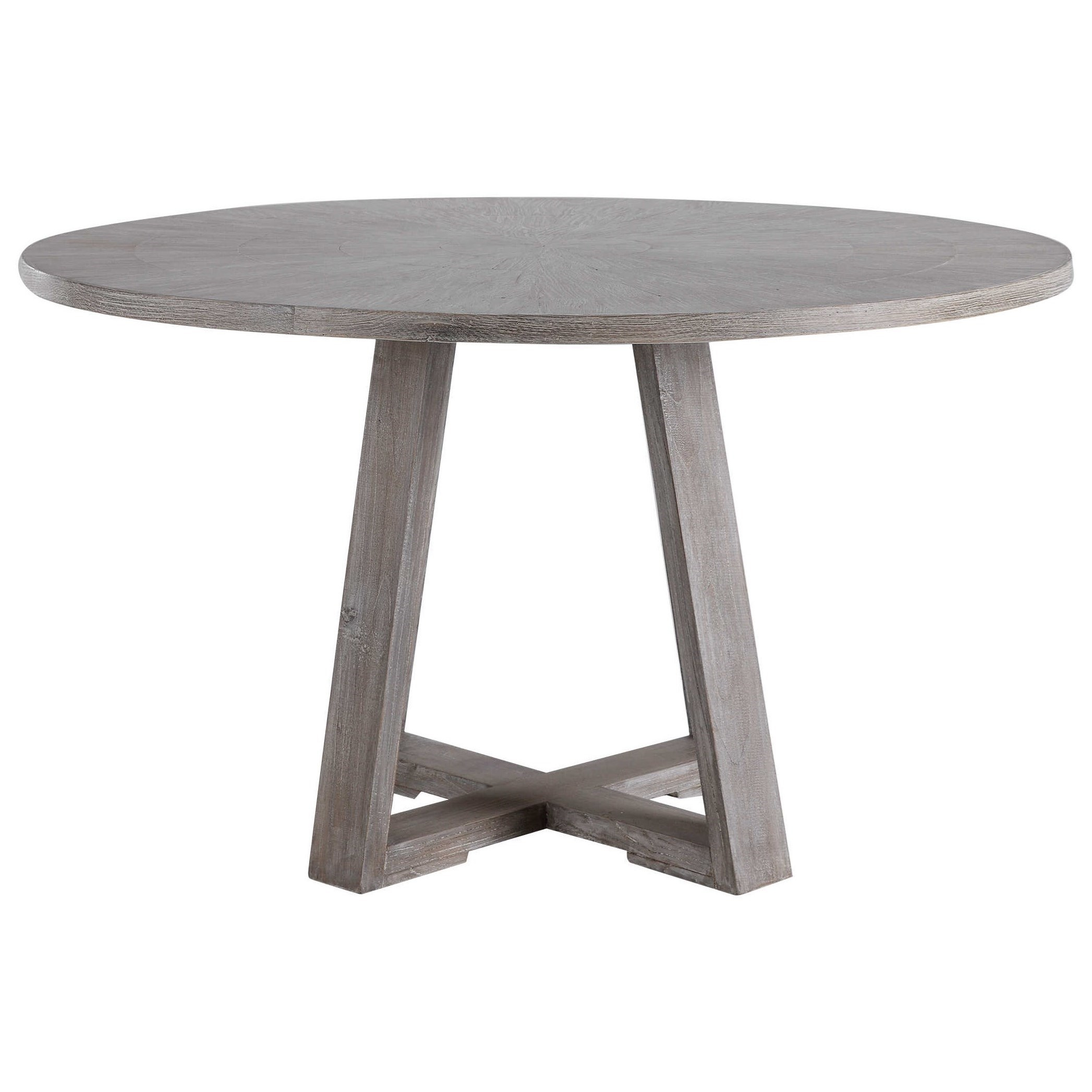 Accent Furniture Gidran Gray Dining Table by Uttermost at Del Sol Furniture