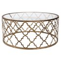 Uttermost Accent Furniture Quatrefoil Coffee Table - Item Number: 25015