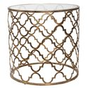 Uttermost Accent Furniture Quatrefoil End Table - Item Number: 25016