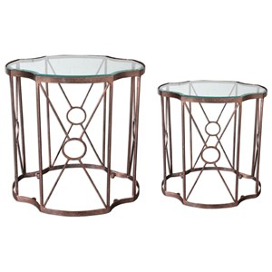 Uttermost Accent Furniture Olavi Accent Tables S/2