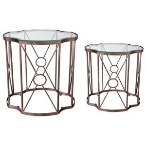 uttermost accent furniture olavi accent tables s2