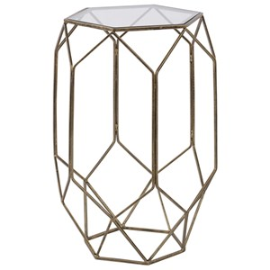 Uttermost Accent Furniture Sanders Contemporary Accent Table