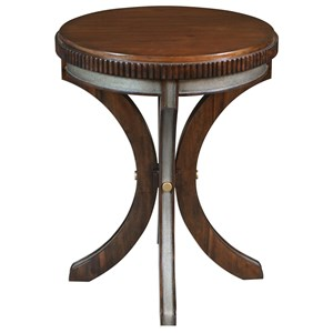 Uttermost Accent Furniture Grae Walnut Accent Table