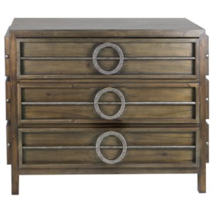Riley Weather Walnut Accent Chest