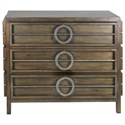 Uttermost Accent Furniture Riley Weather Walnut Accent Chest - Item Number: 25306