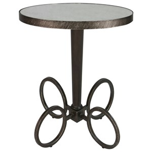 Jalen Industrial Accent Table