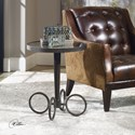 Uttermost Accent Furniture Jalen Industrial Accent Table