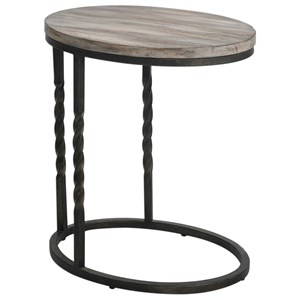 Uttermost Accent Furniture Tauret Cantilever Side Table