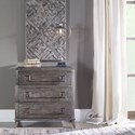 Uttermost Accent Furniture Baseer Charred Walnut Accent Chest