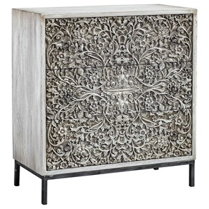 Uttermost Accent Furniture Marina Carved Accent Chest