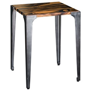 Uttermost Accent Furniture Mira Acacia Side Table
