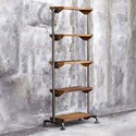 Uttermost Accent Furniture Rhordyn Industrial Etagere
