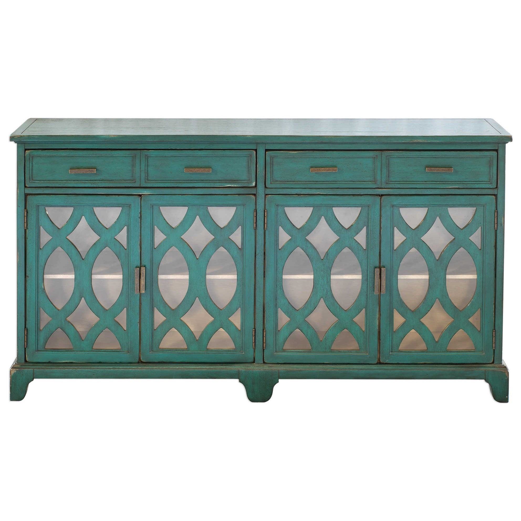 Accent Furniture Oksana Wooden Credenza by Uttermost at Del Sol Furniture