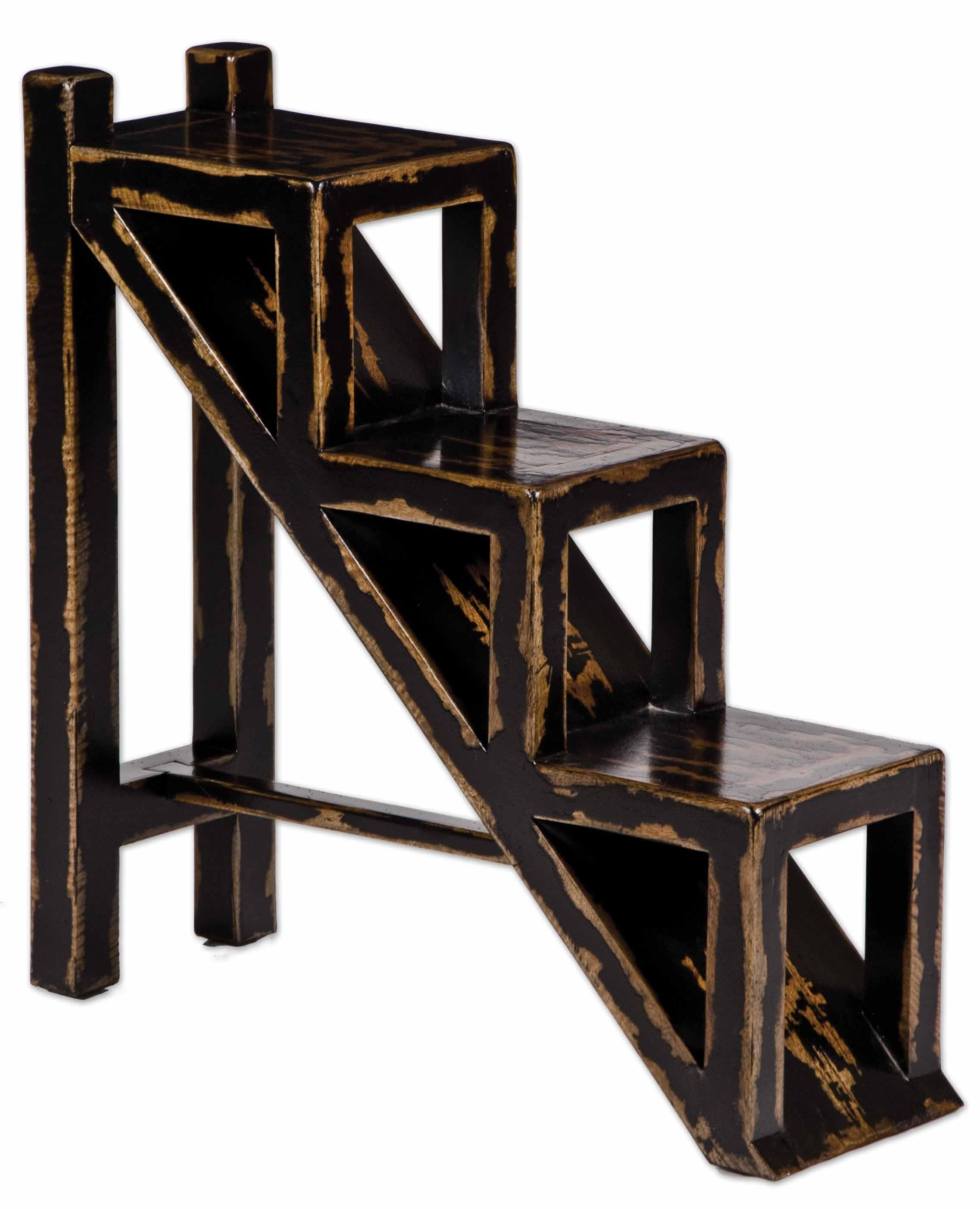 Uttermost Accent Furniture Asher Black Accent Table - Item Number: 25523