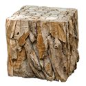 Uttermost Accent Furniture Teak Root Bunching Cube - Item Number: 25592