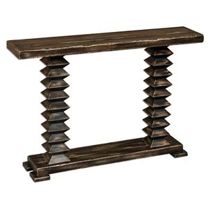Uttermost Accent Furniture Ridge Wooden Console Table