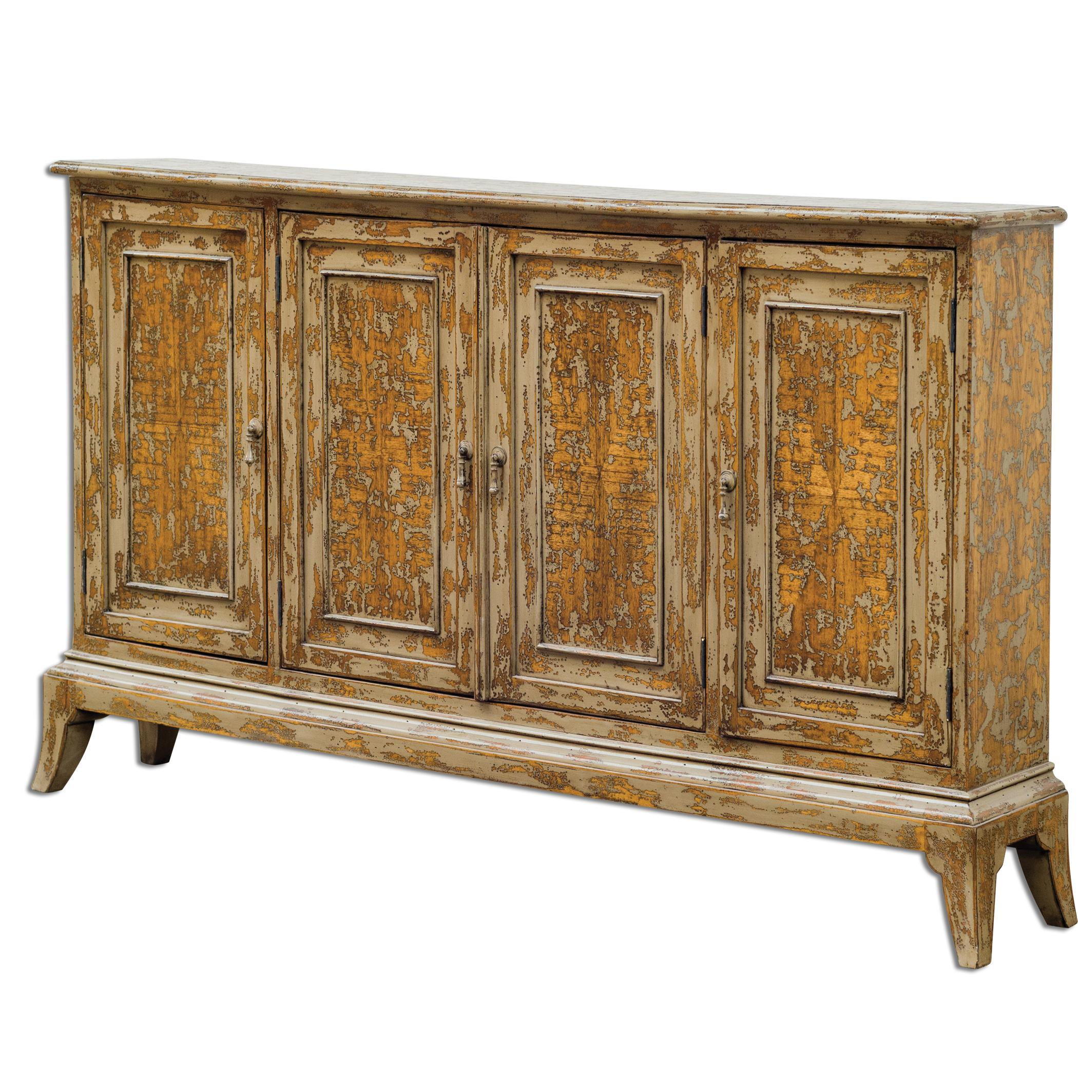 Uttermost Accent Furniture Maguire 4 Door Cabinet - Item Number: 25601