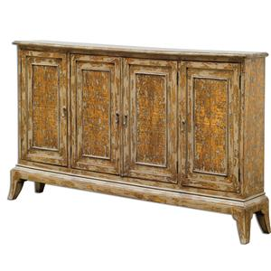 Uttermost Accent Furniture Maguire 4 Door Cabinet